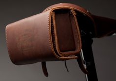 leather bike pocket