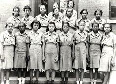Black Girl Scout Troop.