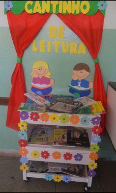 ALFABETIZAÇÃO CEFAPRO - PONTES E LACERDA/MT : Cantinho de Leitura