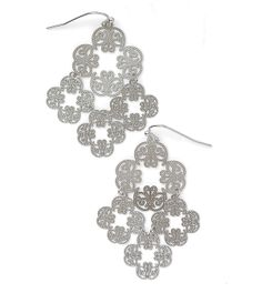 Love Chime Earrings by lia sophia - these earrings are so light and pretty - they also come in gold