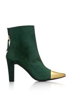 fall 2012, Stuart Weitzman, shoes, boots + booties, high heels, green, metallic