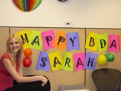 office birthday!