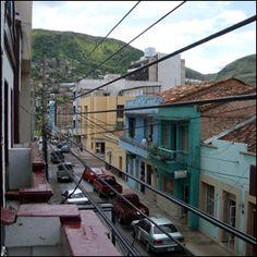 Tegas, a bright mountain town and the capital of Honduras