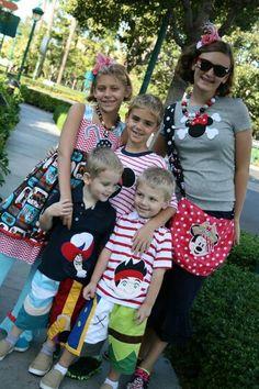 Disney Park outfits