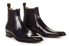 Paul Evans The Dean Chelsea Boot - Nero