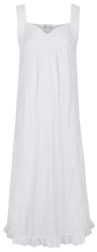 The 1 for U 100% Cotton Nightgown Vintage Design - Nancy (Small) U.A.A. INC. http://www.amazon.com/dp/B00IL6TSNU/ref=cm_sw_r_pi_dp_YbSqvb1XNFGY2