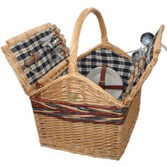 Sutherland Farmhouse Picnic Basket for 4 | All Picnic Baskets | Picnic Baskets | Picnicbaskets.com
