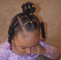 Black Baby Girl Hairstyles, Little Girls Natural Hairstyles, Toddler Braided Hairstyles, Toddler Braids, Kids Curly Hairstyles, Princess Hairstyles, Little Girl Braids, Lisa, Hair Styles