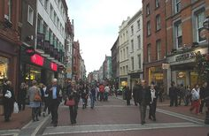 Grafton St. Dublin, Ireland.
