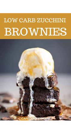 Low Carb Deserts, Low Carb Sweets, Healthy Desserts, Just Desserts, Dessert Recipes, Diabetic Desserts, Frosting Recipes, Healthy Eats, Appetizer Recipes