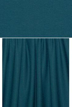 "14 oz. rayon jersey from Emmaonesock. $20, 60""."