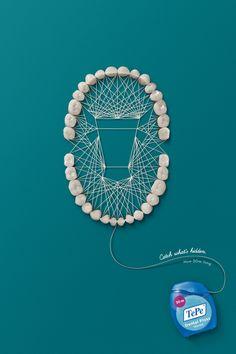 牙線 平面廣告 | MyDesy 淘靈感