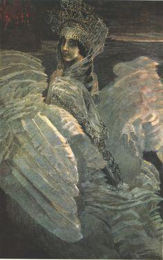 Mikhail Vrubel, The Swan Princess | Dark Classics
