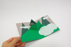 Andrew Zo_Mountains popup card