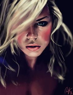 Rose Tyler by someone on deviant art, and they put a link to the program they use!