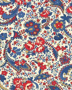 Polka Dots & Paisleys - Rosie Posies - Natural
