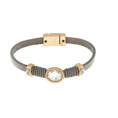 Bracelet chrystal taupe #Biba #Moojste