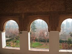 View to garden, Alhambra by eseuvece