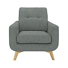 Buy Henley Olive John Lewis Barbican Armchair with Light Legs from our Sofas & Armchairs range at John Lewis & Partners. John Lewis Sofas, Barbican, Open Plan Living, Design Your Own, Love Seat, Armchair, Home And Garden, Couch, Living Room