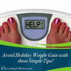 Dreading the inevitable #holiday weight gain? Stay healthy this season with these simple tips! #weightloss
