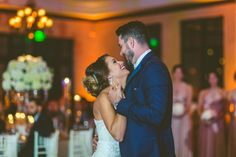 Chic White Wedding, First Dance| Bella Collina | Concept Photography | Vangie's Events of Distinction