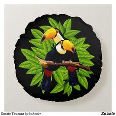 Exotic Toucans Round