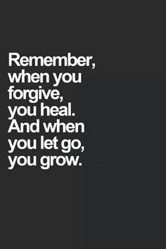 So true, why give that person any more power over you than they already have. Let go and grow.