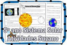 Sistema solar 5º ano EM PDF - Atividades Adriana