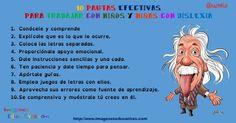 10 pautas efectivas para trabajar con niños y niñas con dislexia