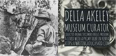 "DELIA ""MICKIE"" DENNING AKELEY #100travelHERS | by sandrakaybee  #travel #wisconsinhistory #history #women #inspirationalwomen Museum Curator, University Of Wisconsin, Women In History, Natural History, African, Explore, Milwaukee, Animals, Image"