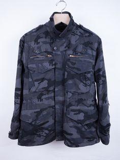 Undercover - Portrait Camo Field Jacket — E-G