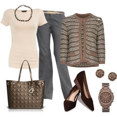"""Bronze Touches"" by my-pretend-closet on Polyvore"