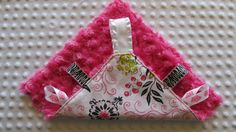 London Floral! Baby Girl Taggie Blanket Hot Pink Fuschia and by BucciAndBubba, $23.00