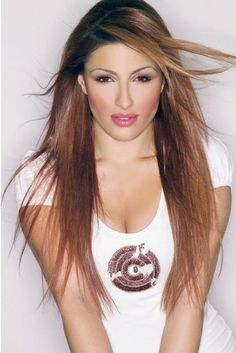 Helena Paparizou, Long Hair Styles, Celebrities, Makeup, Story Characters, Beauty, Cannon, Singers, Lyrics