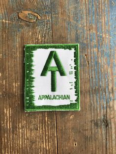 0fcd1fb6ace Appalachian Trail Vintage Sew On Travel Patch by AppalachianWays