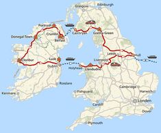 15-daagse bed & breakfast rondreis Ierland en Noord-Ierland · Pharos Reizen Motorcycle Travel, Connemara, Donegal, Camper, World Traveler, Holiday Destinations, Great Britain, Glasgow, Dublin
