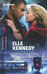 #Kindle #Romance, Colton's Deep Cover (Harlequin Romantic Suspense) by Elle Kennedy. Running from an abusive past, nurse Chloe Moreno arms herself with a new identity and seeks an uncomplicated life in Eden Falls. But her security in the once-peaceful community is crumbling fast. Not only is there a kidnapper on the loose, but it seems her worst nightmare has tracked her down. She needs someone to trust…and no one fits the bill better than Dr. Derek Colton. Click To Read More!
