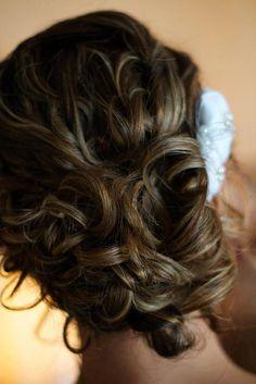 Bridal updo by Maria Tecce