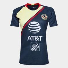833f39889 2018-19 Cheap Women Jersey Club America Away Replica Navy Shirt  CFC632   Cheap