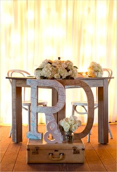 Table on Pinterest Wedding Head Tables Head Tables and Sweetheart