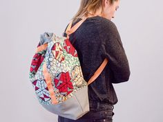 Sew stylish backpack itself: questions DIY