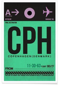 CPH-Kopenhagen of Naxart now on JUNIQE!
