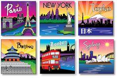 Artistic global city ideas