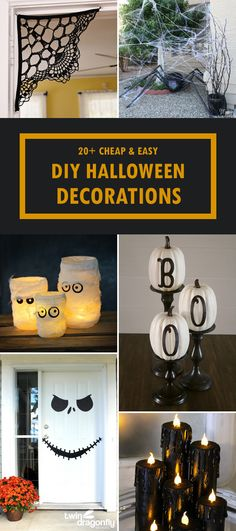 Top 20 DIY Halloween Decor Ideas **THE Round-Up Group Board - halloween party centerpieces ideas
