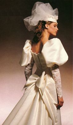 1990's The House Of Bianchi wedding gown | 80'S AND 90'S ...