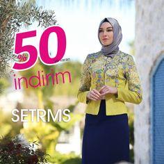 SETRMS'lerde TÜM ÜRÜNLERDE %50'ye varan SETRMS Özel İNDİRİMLERİ devam ediyor.  Bugün keyifli bir alışveriş için sizi de SETRMS'lere bekliyoruz. SETRMS ONLINE Mağazada da %50'ye varan İNDİRİM Fırsatı sizin için... www.onlinesetrms.com