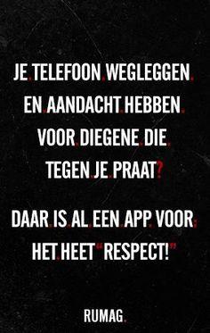 Rumag respect