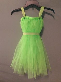Tinker Bell Costume by KyleeCreationz on Etsy, $13.00