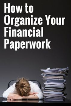 Organizing Your Financial Paperwork | Small Business Tips | Freelancer Tips | Personal Finance Tips | How To Be More Organized