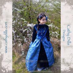 """""""Tudor dress"""" by Cathy Dills.  Inspiring myself in Queen Catalina de Aragón (Catherine of Aragon)."""
